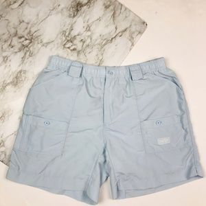 Aftco Shorts - AFTCO | Sky Blue Original Fishing Shorts